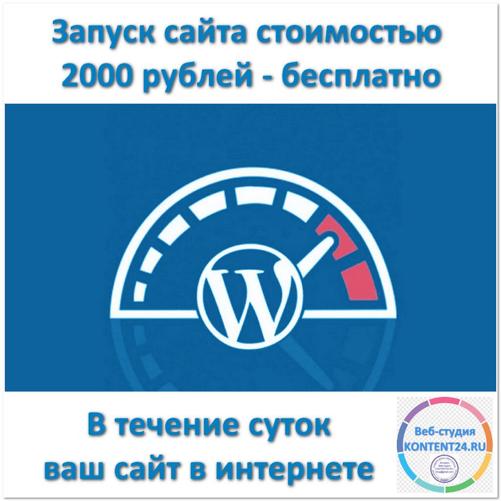 Запуск сайта на CMS WordPress бесплатно - AVIKTO.RU